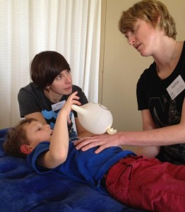 Hattie Williams craniosacral therapy children
